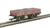 Grampus wagon in BR bauxite livery 990644