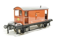 20 Ton Brake Van BR brown with working rear light