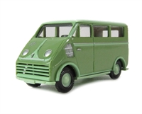 DKW 3=6 van in green HO scale