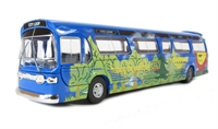 Single deck coach CIty Loop - Helping The World Stay Green HO scale