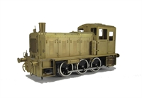 Class 03 Diesel Shunter With Flower Pot Chimney and air tanks in Brass Finish