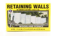 Retaining Walls - Concrete - Pack Of 6
