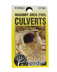 Culvert (Sewer/Drain) Portals - Masonry Arch - Pack Of 2