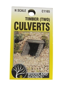 Culvert (Sewer/Drain) Portals - Timber - Pack Of 2