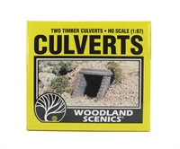 Culvert (Sewer/Drain) Portals -Timber - Pack Of 2