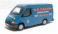 "Ford transit van ""Macleod of Stornaway"""