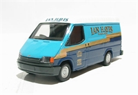 "Ford transit van ""Ian Hayes"" blue & white livery"