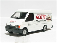 "Ford transit van ""Scott Trawlers"" red & white livery"