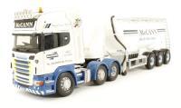 """Scania R Topline Feldbinder """"McCann Haulage, County Tyrone"""""""