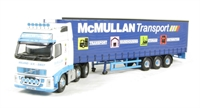Volvo FH Curtainside - McMullan Transport - Ballymoney, Co. Antrim, N Ireland