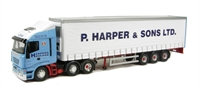 Iveco Stralis Fridge Curtainside - P Harper & Sons Ltd - Ramsey, Cambridgeshire