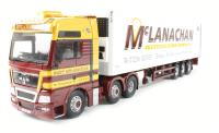 MAN TGX, Fridge Trailer, McLanachan Transport Limited