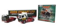 Edward Stobart 1954-2011 Commemorative Set (Scania 4 Series with Curtainside and Scania 111 Tractor Unit)
