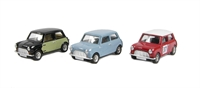 3 piece Mini Collection - Speedwell blue, Radford Wicker Mini & Monte Carlo Rally Mini