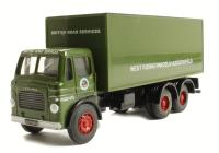 Leyland Mo 6WH van in BRS Parcels livery (poor paint application)