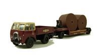 "Foden DG & Trailer with cable drum load ""BR (W)""."