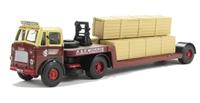 "Leyland Beaver Low Loader & 3 Long Crates ""A & E Morris"""