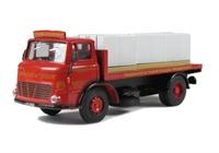 Leyland 4w Flat & 6 Pallets of Paving Stones - 'S. Marshall'
