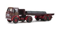 "Leyland Beaver flat artic & load ""Dixon Bool"""