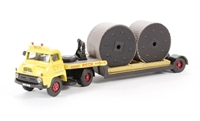 Low loader with cable & drum 'Edward Beck & Son' (circa 1964-1974)
