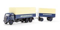 AEC Mammoth van & drawbar van trailer 'Ripponden & District' (circa 1949-1959)