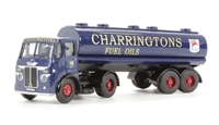 Leyland Beaver Artic tanker 'Charringtons Fuel Oils' (circa 1953-1963)