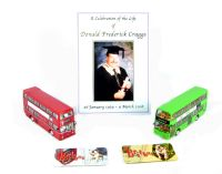 "2-piece set containing MCW Metropolitan and Scania Omnidekka ""Don Craggs memorial"""