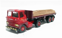 "Scammell Handyman flatbed trailer and load ""Reid's Transport"""