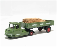 "Scammell Townsman dropside trailer & load ""BRS"""