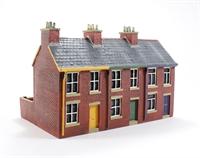 3 house terrace
