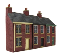 3 House Terrace - Fronts