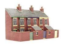 3 House Terrace - Backs