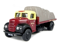 "Ford Thames ET6 flatbed with sheeted load in ""British Railways"" livery"