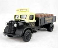 "Austin K2 dropside with barrel load in ""County Brewery"" livery"