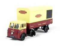 "Jen-Tug artic & parcels van trailer JA 4325 E in ""British Railways"" livery"