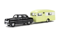 Ford Consul Mk1 and Berkeley Cavalier caravan