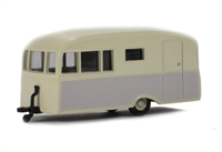 Bluebird Dauphine caravan in cream & beige