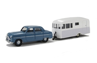 Ford Zephyr Six Mk1 and Bluebird Dauphine Caravan