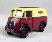 "Morris 10 cwt J van in ""British Railways"" maroon & cream livery"