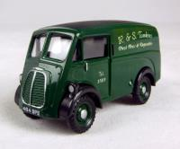 "Morris 10 cwt J van in ""R&S Tomkins Fresh Fruit & Vegetables"" green livery"