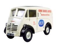 "Austin 101 J van in ""Home Dairies Limited"" white livery"