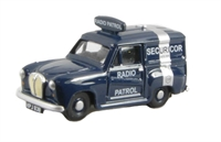 Austin A35 van - Securicor radio patrol