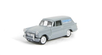 Triumph Courier van in 'Standard Triumph Sales Service Spares' livery with opening bonnet