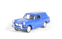 Triumph Courier Van in Blue, with opening bonnet.