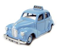 Austin A40 Devon 1940's-50's 4-door taxi in Conway blue