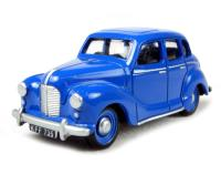 Austin A40 Devon 4-door in Streamline Blue