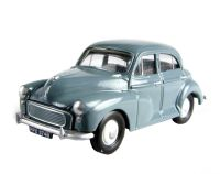 Morris Minor 4-door in grey