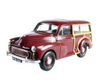 Morris Minor Traveller in maroon