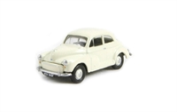 Morris Minor 2-door saloon in white