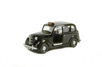 Austin FX3 London Taxi in black.